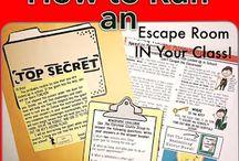 Escape classrooms