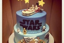 """Star Wars Birthday Ideas / My son's 5th birthday was """"Revenge of the 5th"""" at Disneyland (July 2013) but we may have a regular Star Wars party for him another year. / by Janette"""