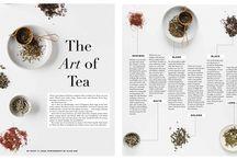Food magazine layouts