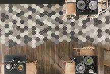 20x23 cm Hexagon Ceramic Tiles