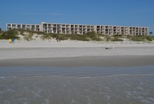 Beacher's Lodge / Sweet Suites on the Oceanfront in St. Augustine, Florida.  Just off the beaten beach path, only 10 miles south of historic St. Augustine.