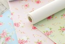 Removable wallpaper / Floral