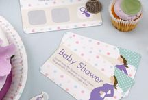 Showered With Love Theme / This gorgeous range of baby shower partyware is ideal for either unisex bumps or the more contemporary mum to be!