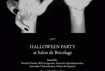 HALLOWEEN PARTY / IDENTITY FOR SALON DE BRICOLAGE | HALLOWEEN PARTY | ART DIRECTION &  PRODUCTION