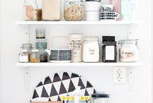 Cocina estantes