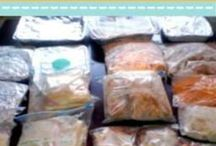 Freezer meals / Make ahead time savers / by Glitter Evergreen