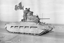 The Desert Rats / British and Commonwealth forces in North Africa.