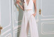 Blanche / white on white ensembles from the runway
