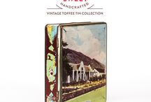 Darling Sweet Featured Toffee Tin Collection / Featured vintage toffee tins with a brief history of origin