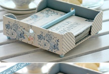 Decoupage ideas and inspiration / by Lynda Brodie