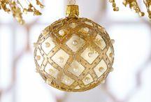 CHR : Golden & White Christmas.
