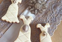 Svatební perníčky.    Wedding cookies