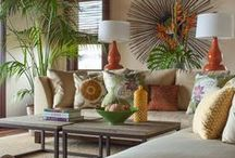 Tropical or Balinese home decor