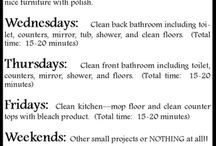 Cleaning / by Christine Hedler