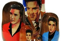 Celebrity Nesting Dolls / are original hand-drawn and hand-painted caricatures of famous people, cartoon characters or other famous figures. / by GreatRussianGifts.com