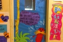 Door decorating for my classroom / by Kelle Cartwright