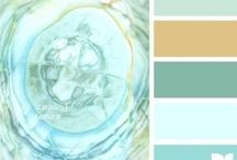 colour swatches / colour swatches for painting and home decor