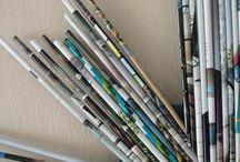 DIY Craft: Magazine Upcycle