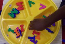 ABC's / tot school { Ideas on teaching ABC's}