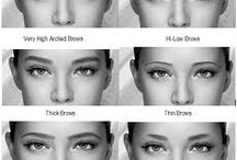 How To Design The Shape Your Eyebrows / Eyebrow Shaping techniques from MicroArt Semi Permanent Makeup.