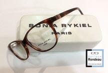 Sonia Rykiel / Légendaire créatrice de mode française, la signature Sonia Rykiel perdure en lunetterie avec d'habiles fabricants français qui disposent du savoir faire et de la volonté de faire vivre l'ADN de la maison
