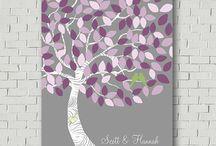 Wedding signature tree