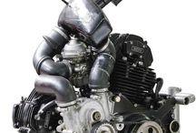Motocykle Silniki