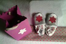 mes creations couture / petits chaussons pour l'hiver