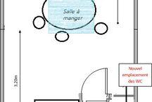 Idée d'aménagement pour maison étroite avec rez-de-chaussée sombre
