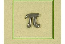 Greek π  (pi)  3.14 / Math Nerds  / by Vetta Kelepouris-Bailey