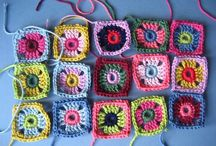 Crochet grannies and squares