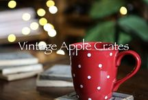 New Christmas Products! / 4 new products all handmade using our genuine used apple crates and fruit trays.