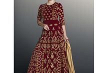 Gulzar Party Wear Designer Suits / Party Wear Suits, Designer Suits, Anarkali Suits