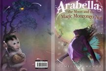 Arabella The Moon and the Magic wzsSzzsssizfd Nutxxddvd d wzsXsaHello Tony, R400 owing from 25/2 Regards Kevinw / After Arabella's father dies, she thinks she will never get over the sadness of it.  But then she gets a magic mongongo nut from Khanyi, the mealie lady, and discovers a world of magic and friendly creatures in the garden.  But there are enemies in this world too: the hadedas and their evil king Ozymandias who want to steal the mongongo nut and the magic it holds.  Is Arabella strong enough for the great battle high up in the lightning-filled skies above the Hillbrow Tower