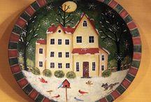 Folk Art / Folk Art and Primitive Decorating Ideas.
