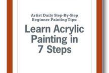 Akrilik boyama teknikleri
