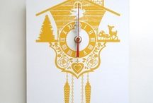Time for Clocks! / So many ways to tell time....there's not enough time to show them all! / by Busy Crow Studio