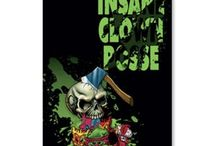 Insane Clown Posse / Check out our latest Insane Clown Posse merchandise selection including Insane Clown Posse t-shirts, posters, gifts, glassware, and more.