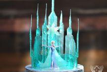Disney frozen cakes / Torte, cupcakes, biscotti, idee per compleanni e feste a tema #Frozen