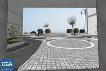 Riqualificazione condominio a Jesolo Lido (VE) / Si tratta di un progetto di restyling degli spazi condominiali a Jesolo Lido