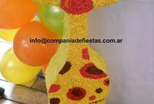 Fiesta jirafa baby tv