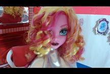Monster High - ideias e bonecas pro blog