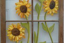 painting frames/windows