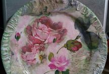 decoupage creations by Anastasia /  decoupage creations