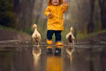 fils et canard