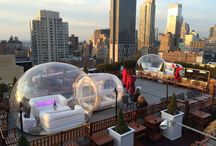 Roof top bars NYC