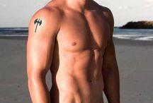 Sexy shirtless men