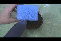 Papercraft Stamping Tutorials to Watch / Great tutorials and how to's for stamping or papercraft to check out.