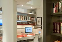 Home office / Just ideas of different home offices and office accessories that i would like to have in my own house some day.