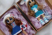 """Куколки """"Глазастики"""" / Интерьерные куклы ручной работы"""